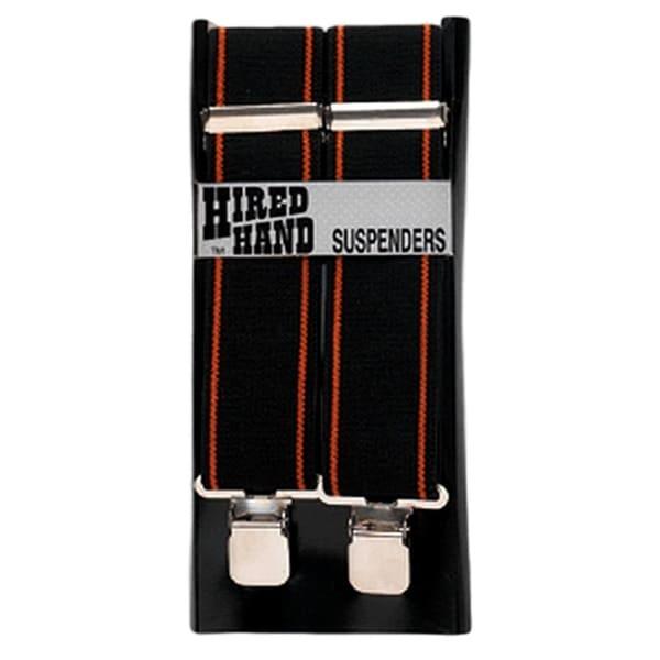 "Nocona Suspenders Mens Galluse Hired Hand Elastic - 2"""