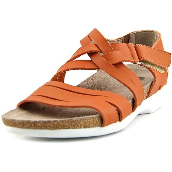 Munro American Kaya Women Open Toe Leather Gladiator Sandal