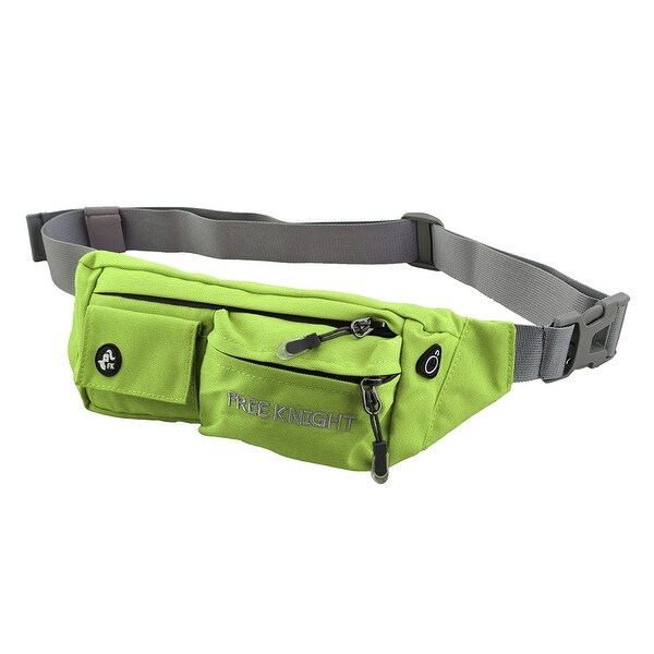 FreeKnight Authorized Running Jogging Phone Holder Sports Pouch Waist Bag Green