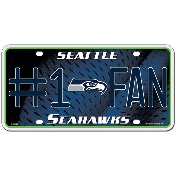 timeless design c942a c796a Seattle Seahawks License Plate - #1 Fan