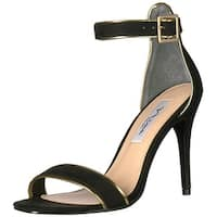 Nina Womens Caela Open Toe Ankle Strap Classic Pumps