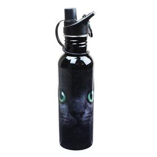 Black Cat Water Bottle - Multi