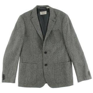 Penguin By Munsingwear Mens Sportcoat Pindot Notch Lapel - L