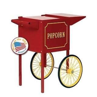 Paragon - Manufactured Fun 3080010 Small Popcorn Machine Cart in Red