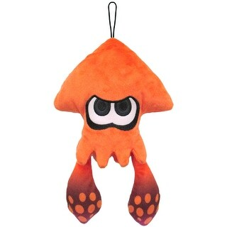 """Splatoon 9"""" Orange Inkling Squid Plush - multi"""