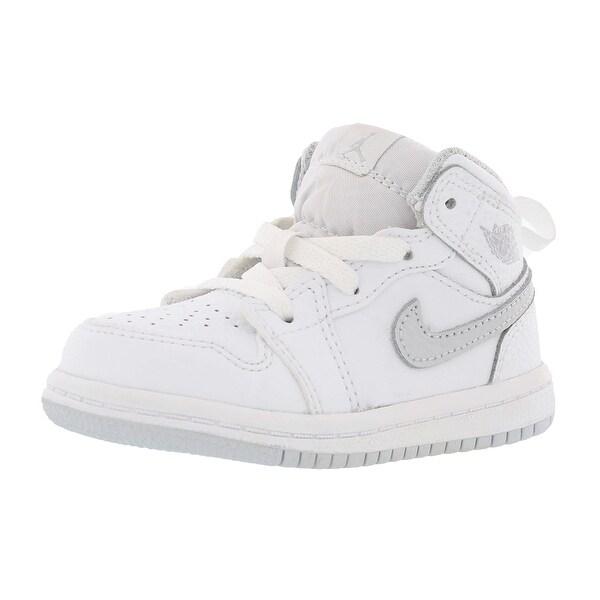 reputable site 1321a c7d5b Jordan Air Jordan 1 Mid Basketball Infants Shoes Size