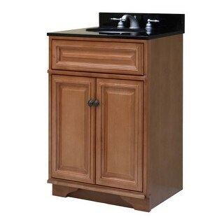 "Sunny Wood BW2421 Briarwood 24"" Maple Wood Vanity Cabinet Only"