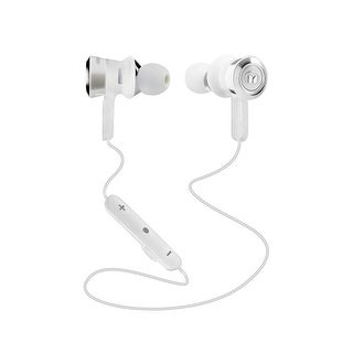 Monster Clarity HD In-Ear Bluetooth Headphones - White and Chrome