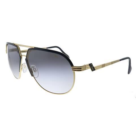 Cazal Cazal 9083 001SG Unisex Gold Frame Grey Gradient Lens Sunglasses