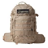 12 Survivors EOD Tactical Backpack Tan