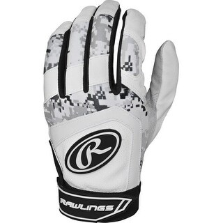 Rawlings 5150 Batting Gloves (Black Digi Camo/Youth Large)
