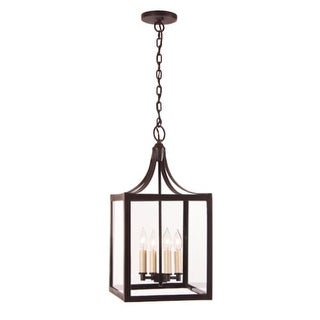 JVI Designs 3024 4 light Foyer Pendant from the Columbia Arc collection