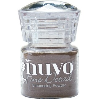Nuvo Embossing Powder Fine Detail .68Oz-Copper Blush