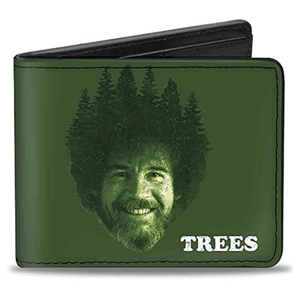 Buckle-Down Bifold Wallet Bob Ross