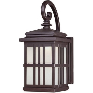 Westinghouse 64002 LED Wall Mount Lantern, Oil Rubbed Bronze