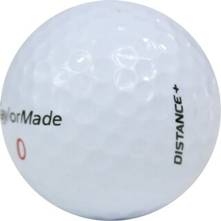 100 TaylorMade Distance + - Value (AAA) Grade - Recycled (Used) Golf Balls