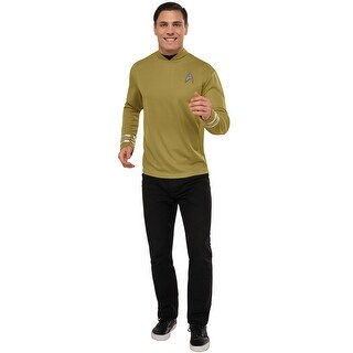 Rubies Deluxe Captain Kirk Adult Costume - YELLOW