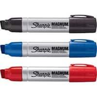 Sanford SAN44101PPBD Sharpie Magnum Permanent Markers - Black