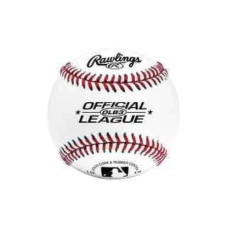 Link to Rawlings OLB3 Official League Recreational Play Baseball Similar Items in Team Sports Equipment