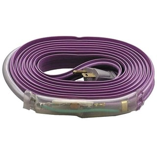 M-D Building Products 4366 Pipe Heating Cable with Thermostat, 24-Foot