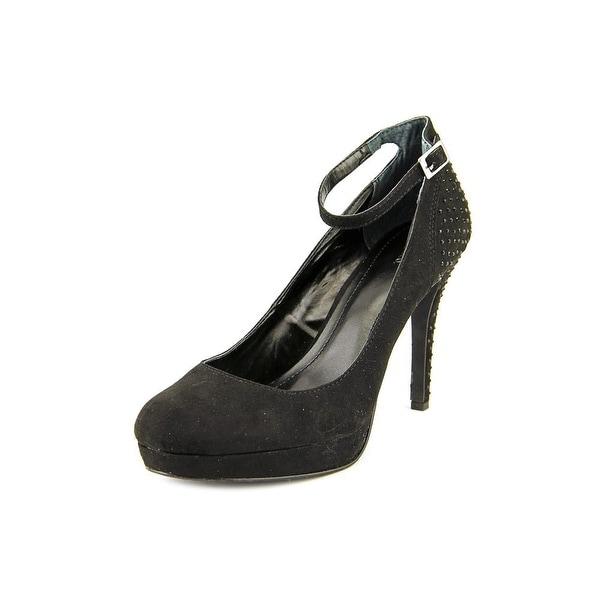 Style & Co Lylla Women Open Toe Synthetic Black Platform Heel