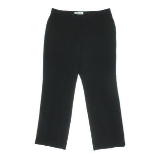 Kasper Womens Petites Kate Relaxed Classic Fit Dress Pants - 16p
