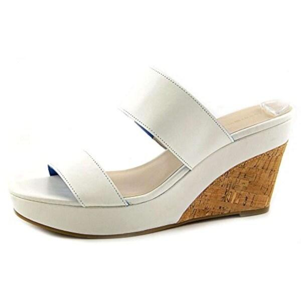 Tommy Hilfiger Womens KADINE Canvas Open Toe Casual Platform Sandals