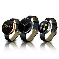TechComm DM360 Water-resistant Smart Watch Pedometer Heart Rate for iPhones