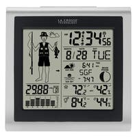 La Crosse Technology Fisherman Weather Forecast Station - Digital Display with Wireless Outdoor Sensor - Multi-Function