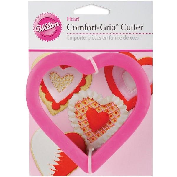 """Comfort-Grip Cookie Cutter 4""""-Heart"""