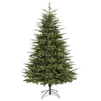 9' Pre-Lit Grantwood Pine Artificial Christmas Tree - Clear Lights - green