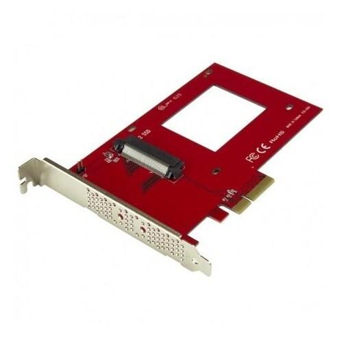 Startech - Pex4sff8639 Nvme Pcie Adapter 2.5In U.2 Ssdnsff-8639 X4 Pcie 3.0