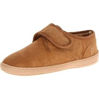 Propet NEW Beige Men's Shoes Size 11M Adjustable Strap Bootie