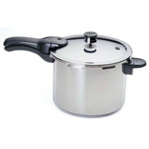 Presto 01362 Stainless Steel Pressure Cooker, 6-Qt