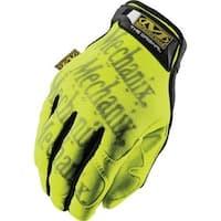 Mechanix Wear 484-SMG-91-009 Safety Original Hi-Viz Yellow Medium