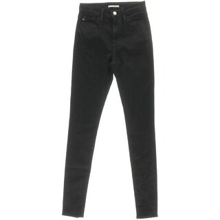 Alexa Chung for AG Womens The Hynes Stretch Mid-Rise Skinny Jeans