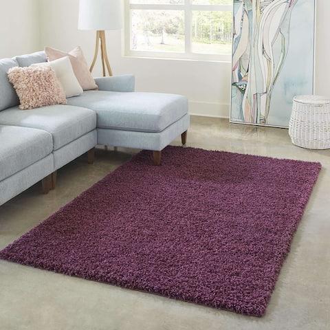 Unique Loom Zuniga - Solid Shag Rug