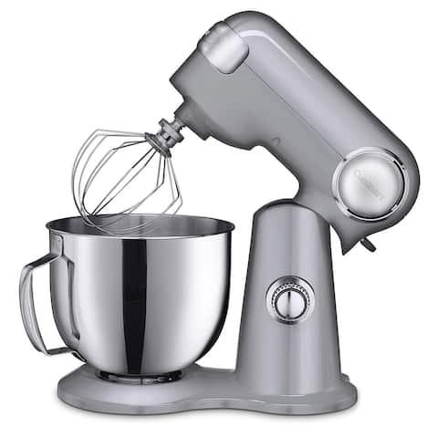 Cuisinart SM-50BC Precision Master 5.5-Quart Stand Mixer, Brushed ChromE