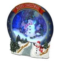 Christmas Musical Snowing Frame