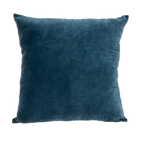 Parkland Collection Artemis Transitional Teal Throw Pillow