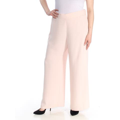 e83e28bc96 NINE WEST Womens Pink Wide Leg Formal Pants Size  XL