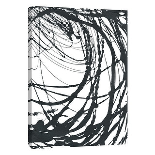 """PTM Images 9-108576  PTM Canvas Collection 10"""" x 8"""" - """"Undulating Orbit 2"""" Giclee Abstract Art Print on Canvas"""