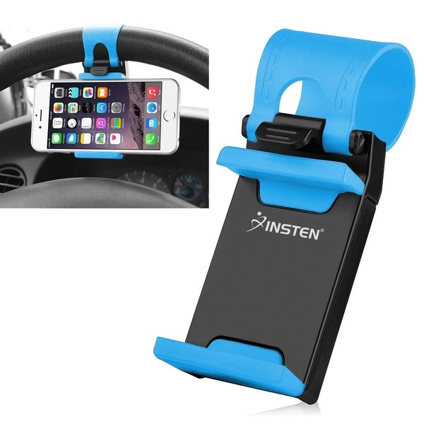 Insten Universal Car Steering Wheel Phone Holder in Assorted Colors
