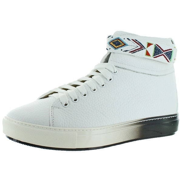 Donald J Pliner Cosimo Men's Cheyenne Strap Sneakers Shoes Leather