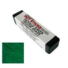 Enkaustikos - Hot Sticks Encaustic Wax Paint - Pthalo Green Yellow