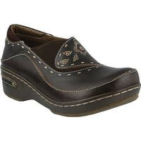 L'Artiste by Spring Step Women's Burbank Brown Leather