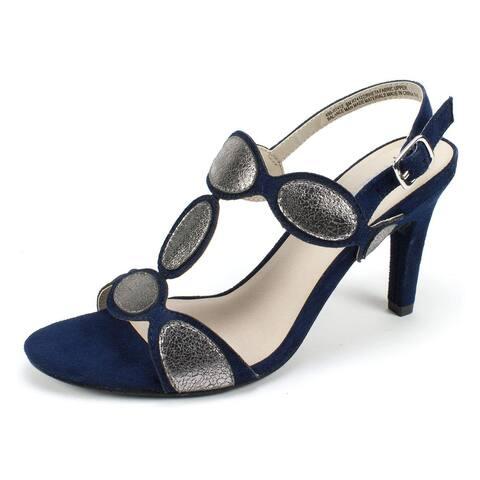 Rialto Womens rheta Open Toe Ankle Strap Classic Pumps