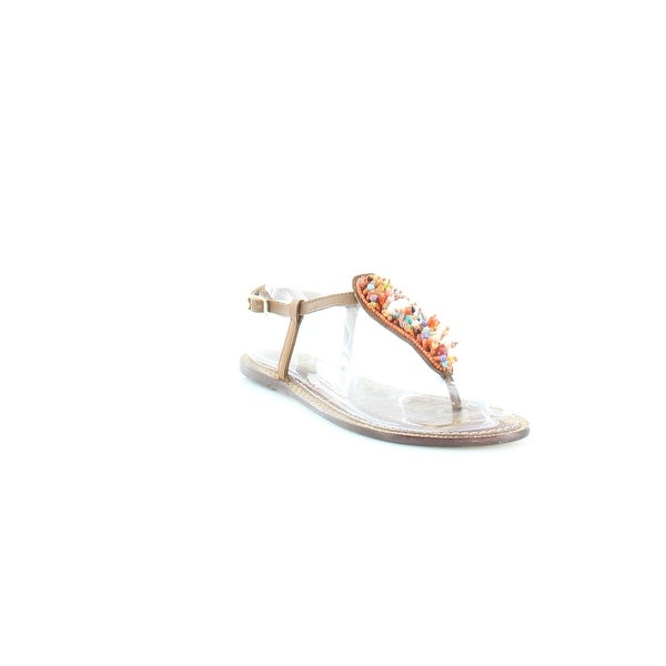 Sam Edelman Gabrielle Women's Sandals & Flip Flops Brown Multi - 8.5
