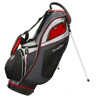 Link to Powerbilt TPS Dunes 14-Way Black/Charcoal Stand Golf Bag Similar Items in Golf Bags & Carts