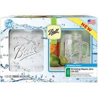 24Oz - Ball Wide Mouth Drinking Mugs 4/Pkg